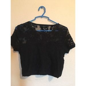 Forever 21 Lace Crop Top (S)